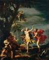 Apollo And Daphne - (after) Sebastiano Ricci