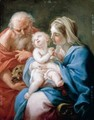 The Holy Family - (after) Sebastiano Conca