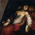 The Death Of Lucretia - Genoese School