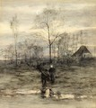 Wood Gatherers Returning Home - Maria Philippina Bilders-Van Bosse