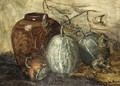 A Still Life With Melons - Sientje Mesdag Van Houten