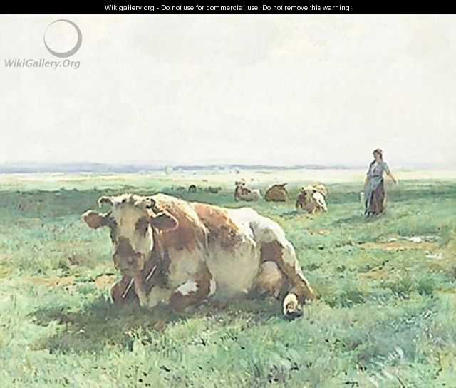 Cows At Pasture 2 - Julien Dupre