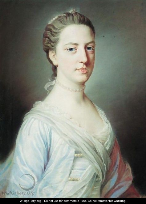 Portrait Of A Lady 4 - William Hoare Of Bath