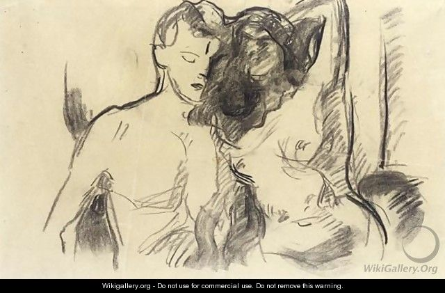 Nude Couple - Edvard Munch
