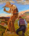Labourers In The Fields - Frantisek Bilek