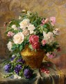 Still Life With Roses - Pierre Garnier