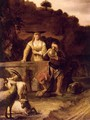 Rebecca And Eliezer At The Well - (after) Constantijn Van Renesse