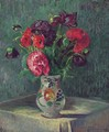 Nature Morte Au Vase De Fleurs - Armand Guillaumin