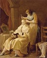 A Lady At Her Toilet - (after) Giuseppe Gambarini