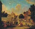 View Of A Market - (after) Pieter Bout