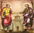 Saints Justus And Pastor, The Patron Saints Of Madrid - Spanish School