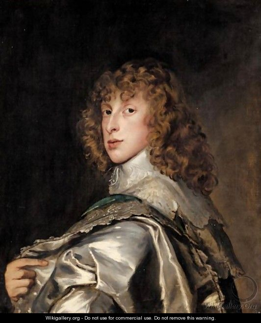 Portrait Of Lord Bernard Stuart, Later Earl Of Lichfield - (after) Dyck, Sir Anthony van