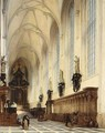 The Interior Of The Pauluskerk, Antwepen - Andre Joseph Minguet