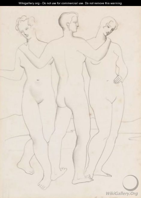 The Three Graces - Christopher Wood