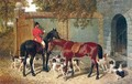 Huntsman And Hounds At The Kennels - John Frederick Herring, Jnr.