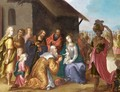 The Adoration Of The Magi - (after) Pieter Lisaert IV