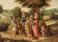 The Triumph Of David - (after) Lucas Van Leyden