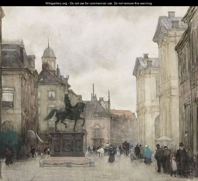 Figures On The Noordeinde, The Hague 2 - Floris Arntzenius