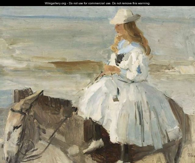 The Donkey Ride - Isaac Israels