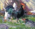 The Black Cockerel - Francis Campbell Boileau Cadell