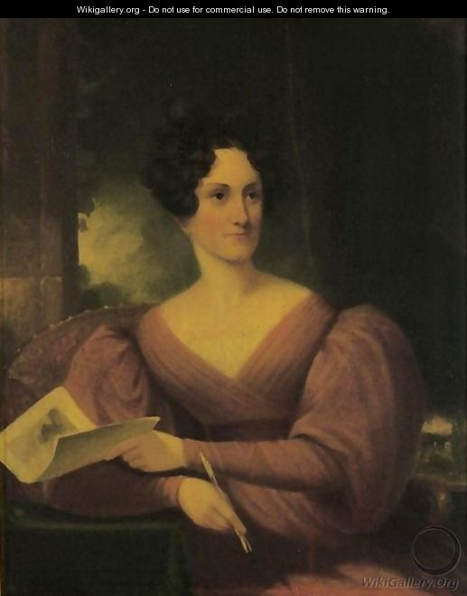 Portait Of Mary Rutherford Clarkson - Samuel Finley Breese Morse
