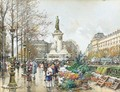 Place De La Republique - Eugene Galien-Laloue