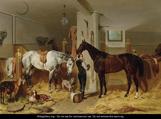 The Stable Lad - Franz Adam