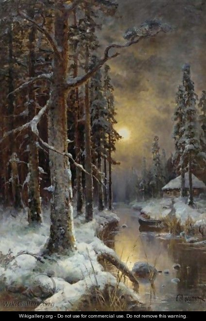 The Forest, Winter - Iulii Iul