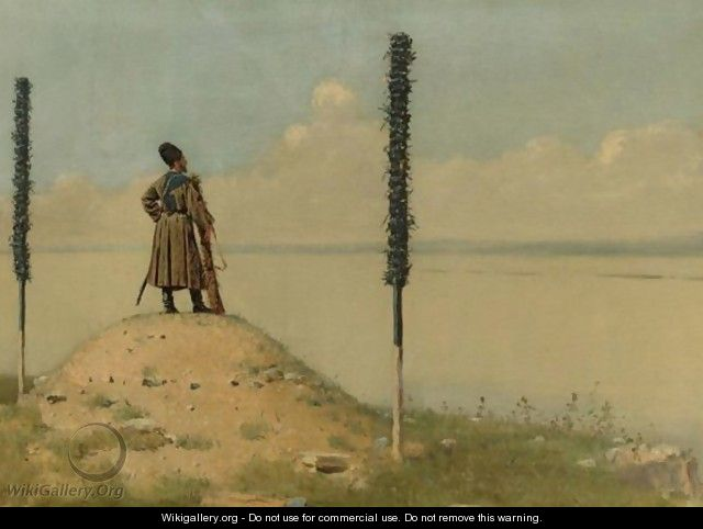 Cossack Picket On The Danube - Vasili Vasilyevich Vereshchagin