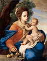 The Madonna And Child In A Landscape - Massimo Stanzione