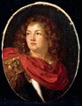 Portrait Of A Gentleman, Head And Shoulders, Wearing Classical Armour - Arie de Vois