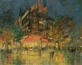 Cafe Des Sports, Paris - Konstantin Alexeievitch Korovin