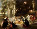 The Garden Of Love 2 - (after) Sir Peter Paul Rubens