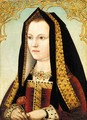 Portrait Of Queen Elizabeth Of York (1465-1503) - English School