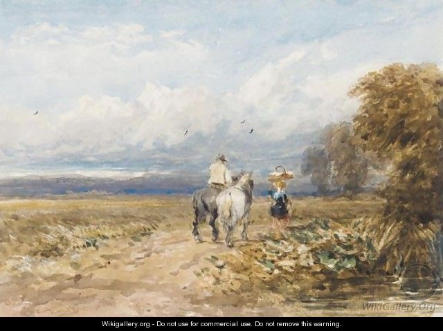 The Road By The Moor - David Cox