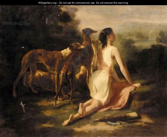 Diana The Huntress - Joseph-Urbain Melin
