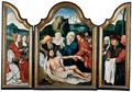 A Triptych The Lamentation Of Christ - Belgian Unknown Masters