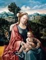The Rest On The Flight Into Egypt - (after) Jan Van Scorel