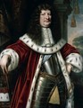 Portrait Of Friedrich Wilhelm, Elector Of Brandenburg (1620-1688), Three-Quarter Length Standing, Wearing Armour, Robes And Holding A Baton - Pieter Nason