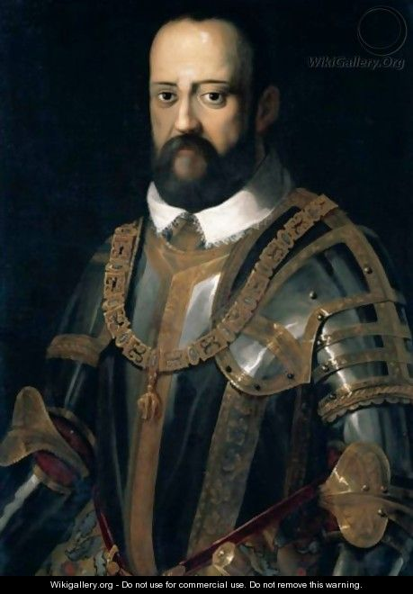 Portrait Of Grand Duke Cosimo I De