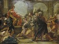The Continence Of Scipio - Giovanni Battista (Baciccio) Gaulli