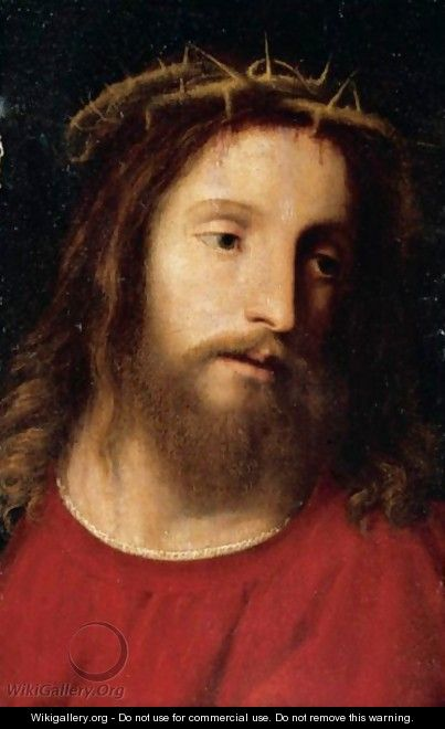 Christ Crowned With Thorns - Ferrarese School
