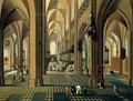 The Interior Of A Cathedral - Pieter the Younger Neefs