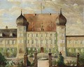 Vieuw Of Schloss Maxlrain Between 1871 And 1936. - German School