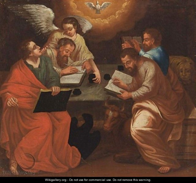 The Four Evangelists - Neapolitan School