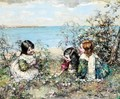 Gathering Flowers - Edward Atkinson Hornel