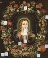 Christ As A Child In A Flower Garland - Italian School