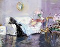 The White Sofa - Francis Campbell Boileau Cadell