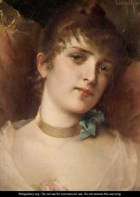 Portrait Of A Lady - Conrad Kiesel