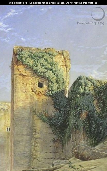 Views Of Granada A Pair Of Paintings - Henry Stanier